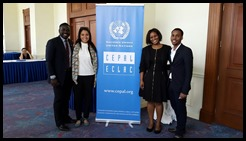 Participants in the ECLAC Seminar on Youth and Social Inclusion